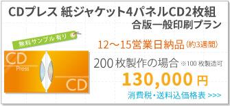 紙ジャケ4パネル2CDディスクゆっくりバナー