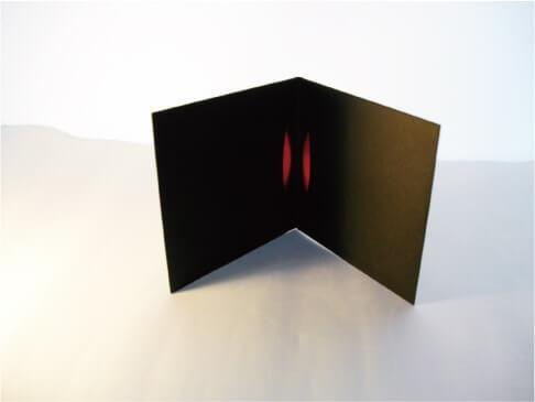 紙ジャケット4パネル ブラック(大)イメージ