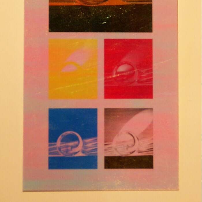 ホログラム-ピンキーレインボー イメージ(大)画像