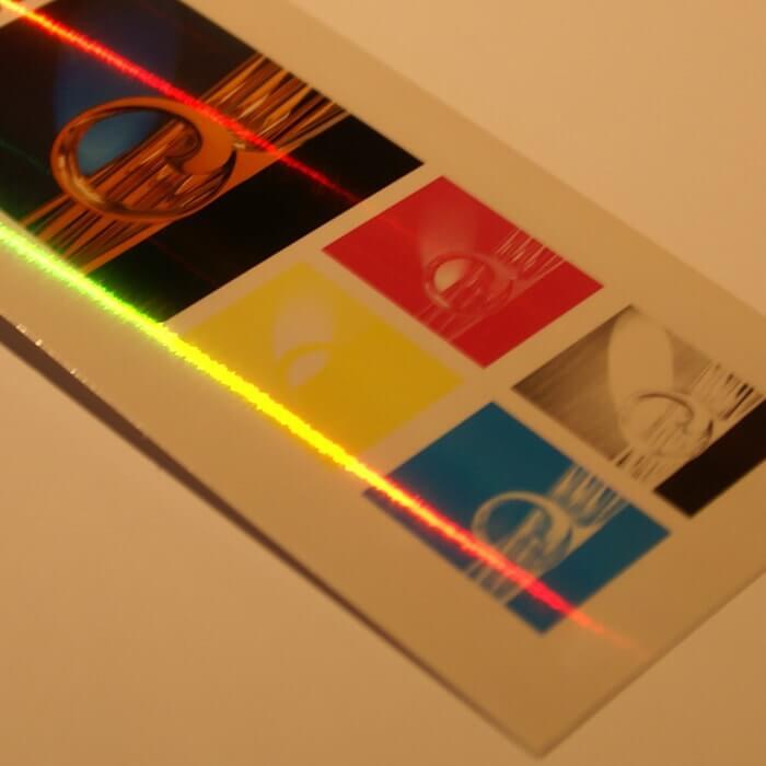 ホログラム-ラインレインボー イメージ(大)画像