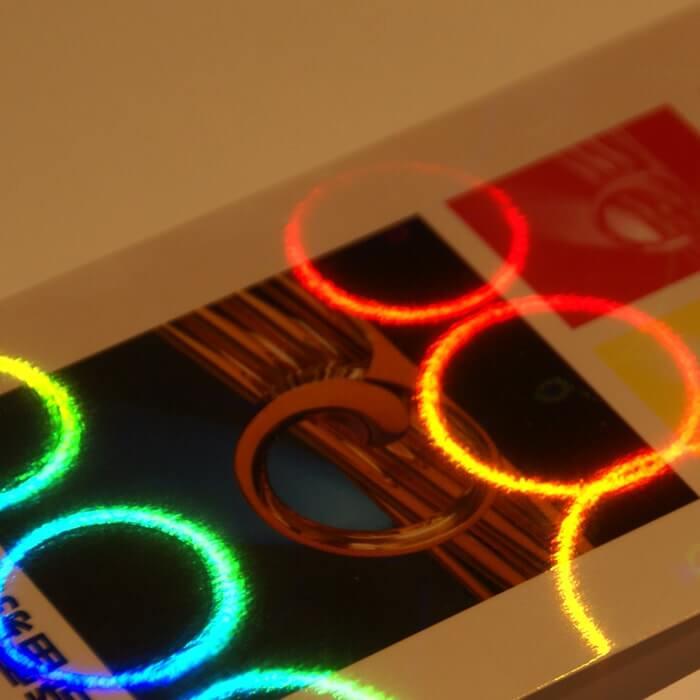 ホログラム-レインボーリング イメージ(大)画像