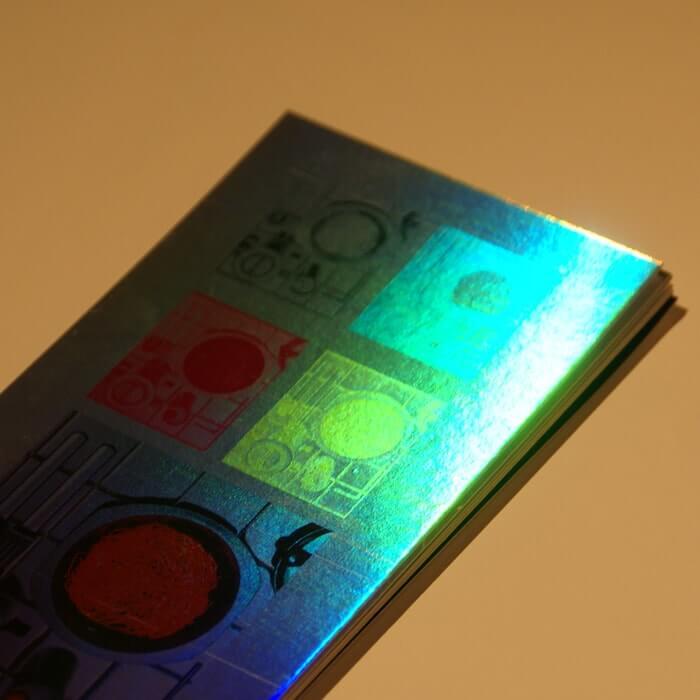 ホログラム-レインボーミラー イメージ(大)画像