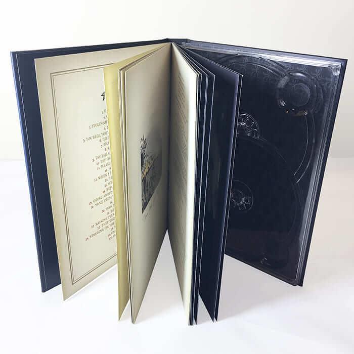 ブック式トールサイズ2枚収納トレイ イメージ(大)画像