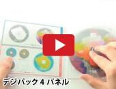 デジパック4パネル youtube 動画