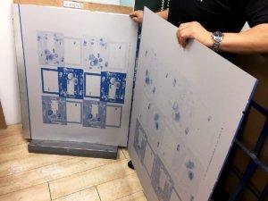 ジャケットケース印刷用の製版のイメージ画像その2