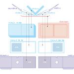 ブック式ハードカバーの分解図